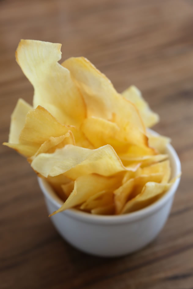Chips de mandioca do Mocotó